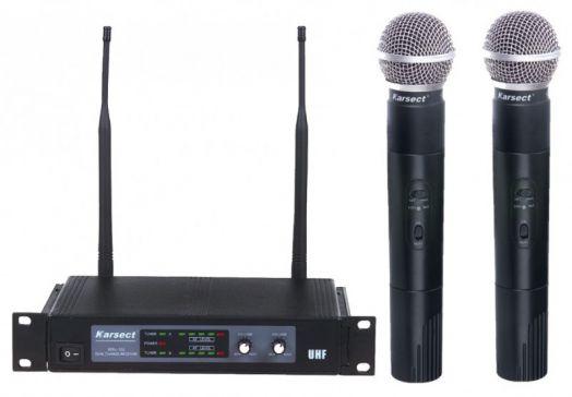 KARSECT KRU-102/KST-3U Радиосистема 2 микрофона