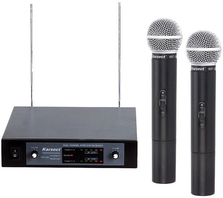 KARSECT KRV-202/KST-53V Радиосистема 2 микрофона