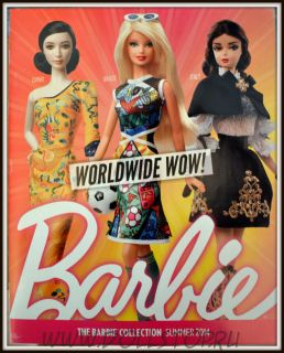 Каталог Барби Коллектор Лето 2014 - The Barbie Collection Summer 2014