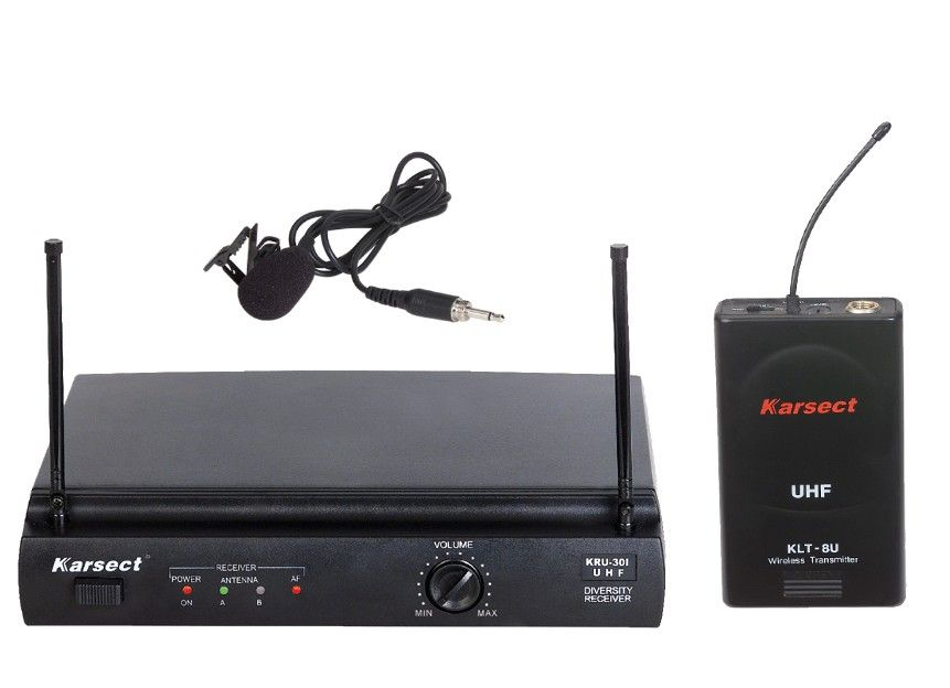 KARSECT KRU-301/KLT-8U Радиосистема с петличным микрофоном