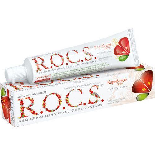 "R.O.C.S. зубная паста ""Грейпфрут и мята"", 74 г"