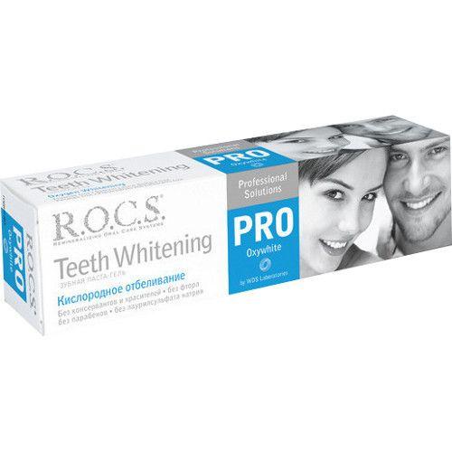 """R.O.C.S. зубная паста """"Кислородное отбеливание"""", 60 г"""