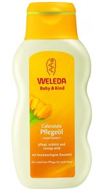 WELEDA Масло с календулой для младенцев, 200 мл