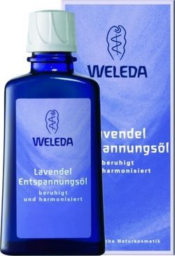 WELEDA Расслабляющее масло с лавандой, 100 мл