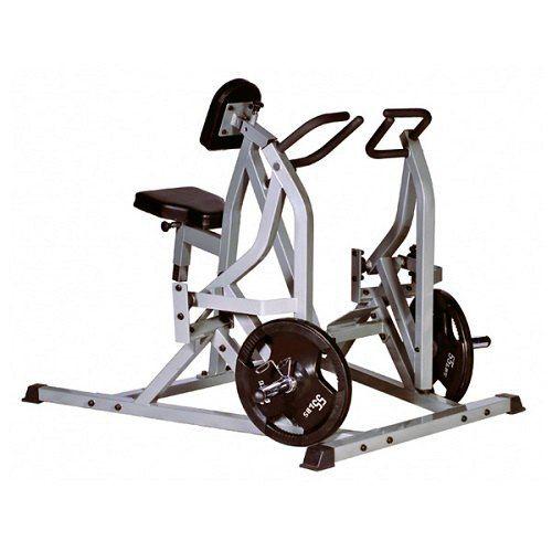 Гребная тяга с упором в грудь (рычажная горизонтальная тяга) HARDMAN HM-783