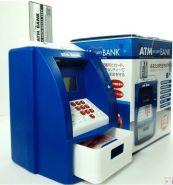 Копилка банкомат с PIN кодом и пластиковой картой