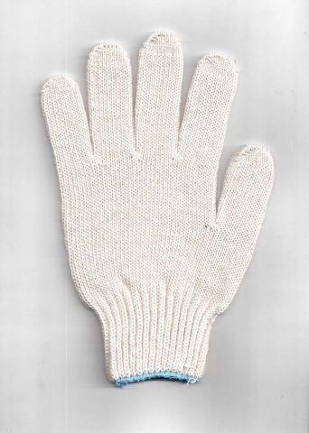 перчатки рабочие хб 5 нитей 7 класс люкс без пвх