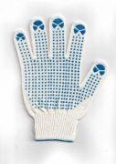 перчатки рабочие хб 5 нитей 10 класс люкс - 2