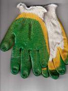 перчатки рабочие хб 13 класс с двойным латексным покрытием люкс зима