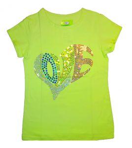 блуза с блестками для девочки
