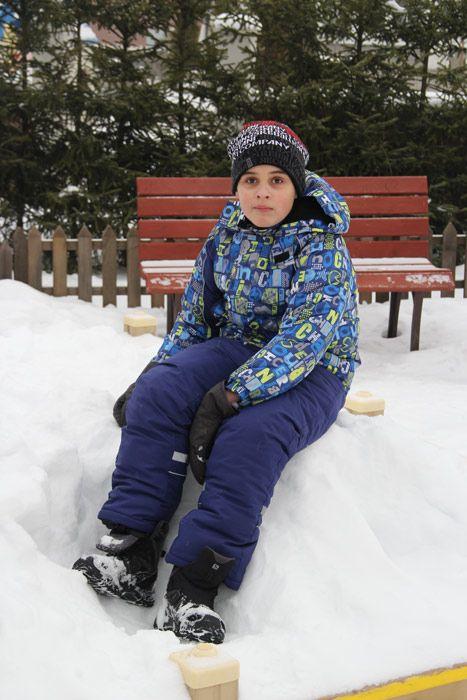 Куртка для мальчика 7 лет из мембраны