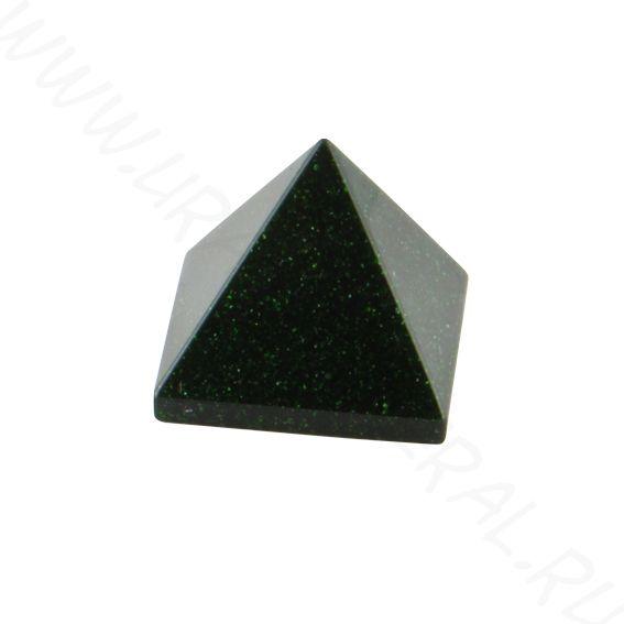 Пирамида - Авантюрин зелёный