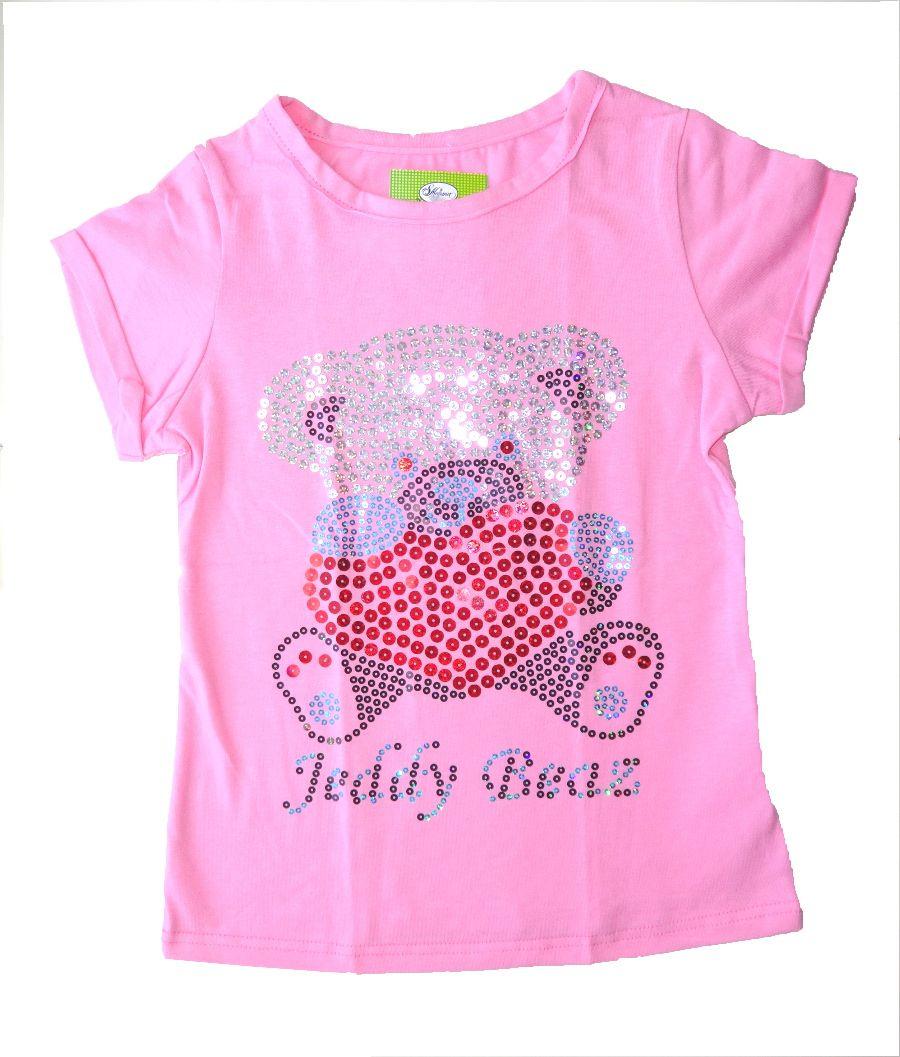 Блузка для девочки Мишка