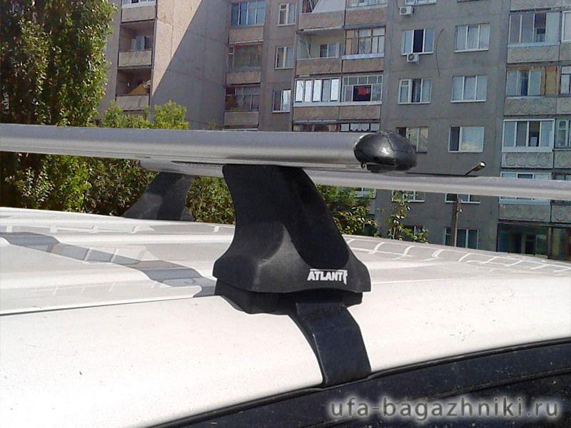 Багажник на крышу Ford Kuga, Атлант, аэродинамические дуги