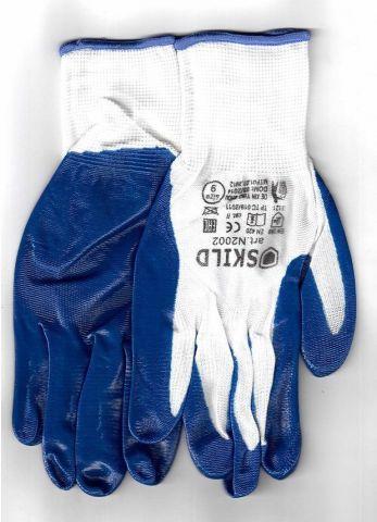 перчатки рабочие нейлоновые 13 класс вязки