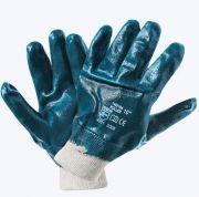 перчатки маслобензостойкие с полным нитрильным покрытием, 2 слоя