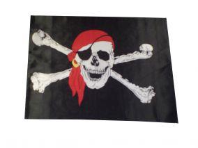 Пиратский флаг размеры 60х40см