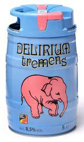 Бочонок 5 литровый Delirium Tremens (Делириум Тременс)