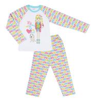 CAJ5180 Пижама для девочки Черубино Россия
