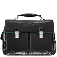 Портфель Piquadro CA1068B2/N кожаный черный