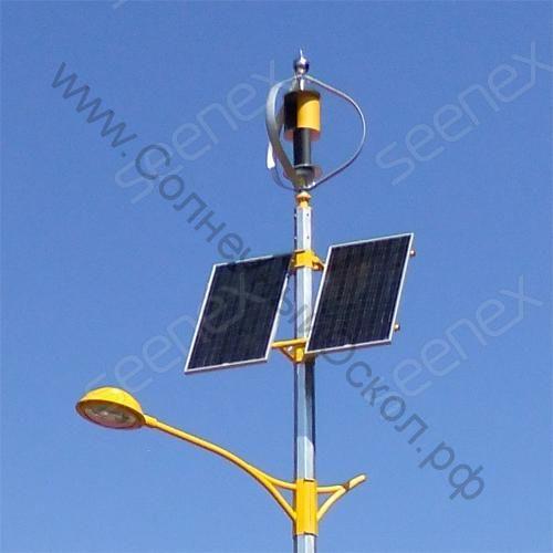 Разработка уличного автономного светильника по индивидуальному заказу