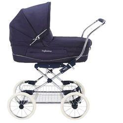 Коляска для новорожденных Inglesina Vittoria Marina на шасси Comfort Chrome Blu