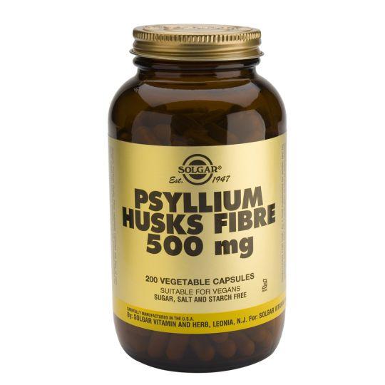 Солгар Псиллиум, клетчатка кожицы листа капс. 500мг №200