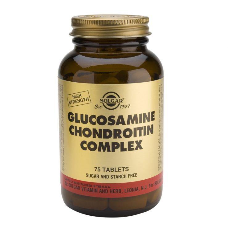 СОЛГАР Глюкозамин-Хондроитин плюс таб. №75