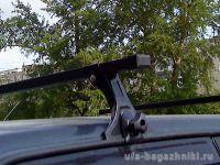 Багажник на крышу на ВАЗ-2113, ВАЗ-2114, ВАЗ-2115, Евродеталь, стальные дуги
