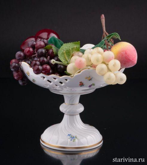 Ваза-фруктовница, Meissen, Германия.