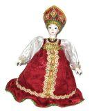 Сувенирная кукла на чайник Луша