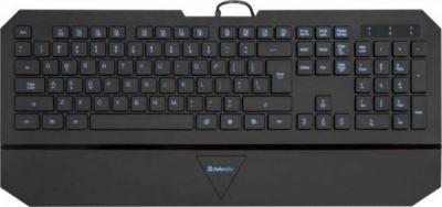 Проводная клавиатура Oscar SM-660L Pro RU,черный,4 уровня подсветки