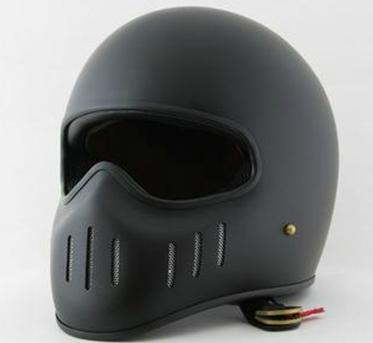 Мотошлем TT & CO  Ghost Rider Harley (интеграл) чёрный матовый