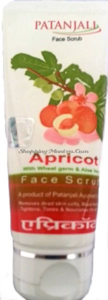 Скраб для лица Абрикос Патанджали Аюрведа (Divya Patanjali Apricot Face Scrub)