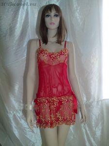 Сексуальная красная сорочка