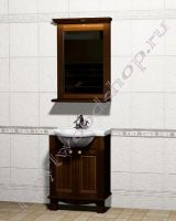 """Мебель для ванных из дерева """"Челси-1 АЛЕКС-65 орех"""""""
