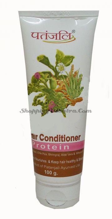 Протеиновый кондиционер для волос Патанджали Аюрведа (Divya Patanjali Protein Hair Conditioner)