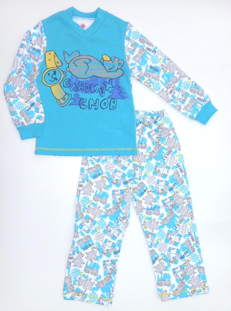 922c9fb917c7 Хлопковая детская пижама Мишка для мальчика в интернет-магазине ...