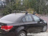 Багажник на крышу Chevrolet Cruze, Атлант, прямоугольные дуги