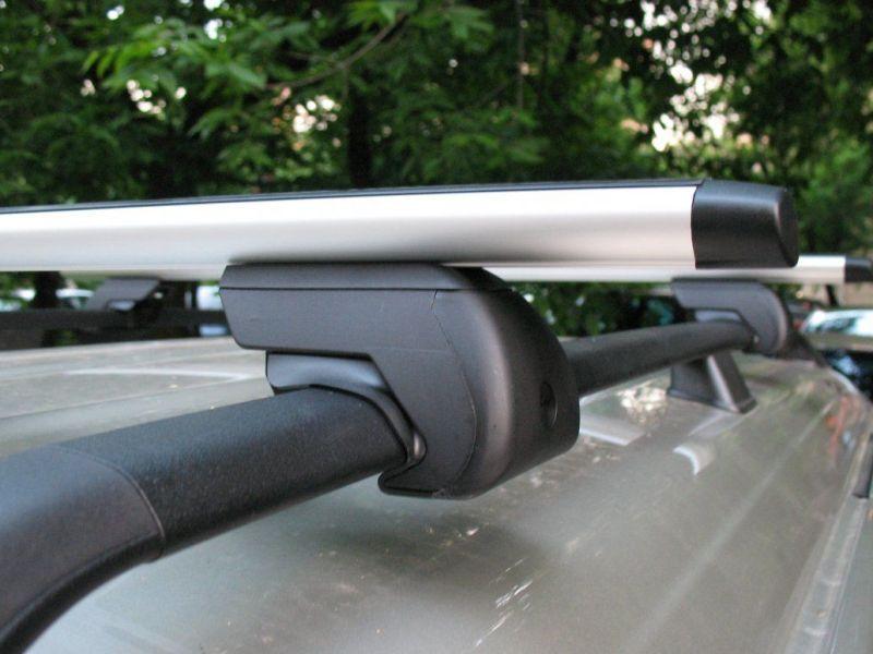 Багажник на крышу - аэродинамические дуги на рейлинги Suzuki SX4, Евродеталь