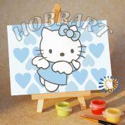 """Картина по номерам """"Hello Kitty. Хелло Китти. Просто Ангел"""""""