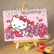 "Картина по номерам ""Hello Kitty. Хелло Китти. Письмо про нежность"""