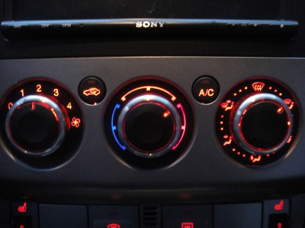 Ручки кондиционера Ford Focus II, III, C-Max, Mondeo IV