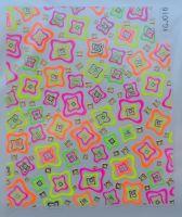 Наклейка для дизайна ногтей на клеевой основе №16
