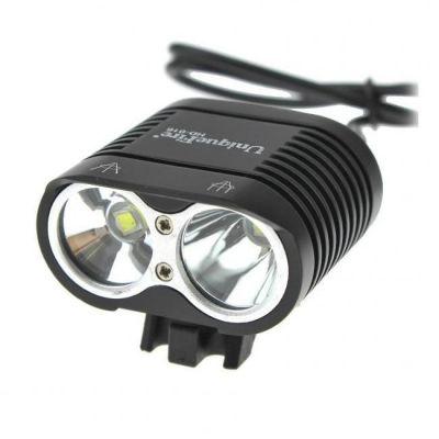 Велофара+налобный фонарь UniqueFire HD-016, 1600 Лм, комплект