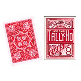 """Карты Tally-Ho №9 """"Circle Back"""" (красные)"""