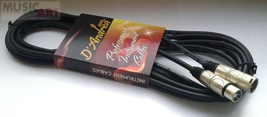 D'Andrea MCF-20 Микрофонный кабель XLR <-> XLR, 6 м