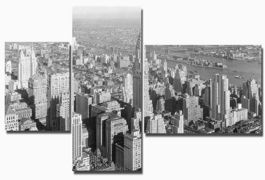 Модульная картина Город 16