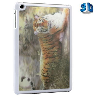 Чехол-накладка для iPad mini 3D Picture Hologram белый