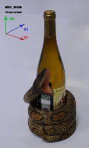 Подставка для вина «Змея»